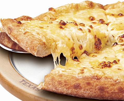 たっぷりチーズの塩バター